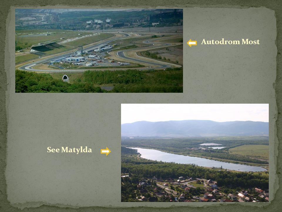 Autodrom Most See Matylda