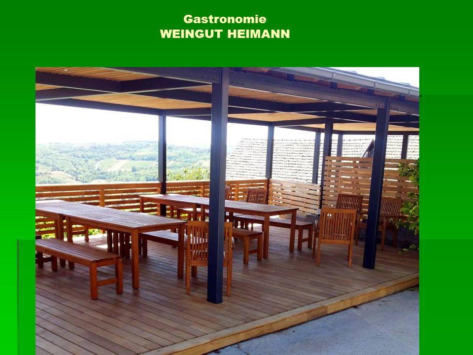 Gastronomie WEINGUT HEIMANN