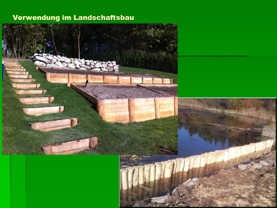Landschaftsbau Verwendung im Landschaftsbau