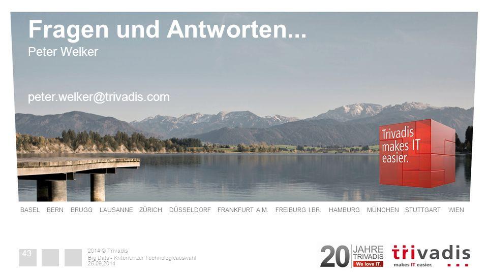 2014 © Trivadis Fragen und Antworten...