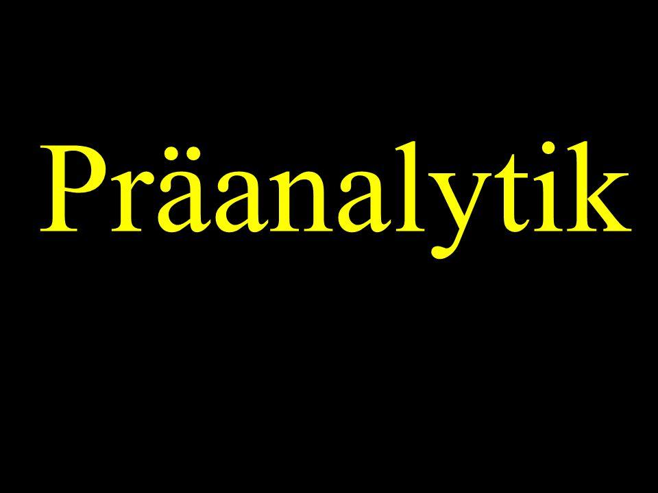 Präanalytik