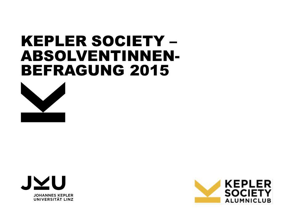 KEPLER SOCIETY – ABSOLVENTINNEN- BEFRAGUNG 2015