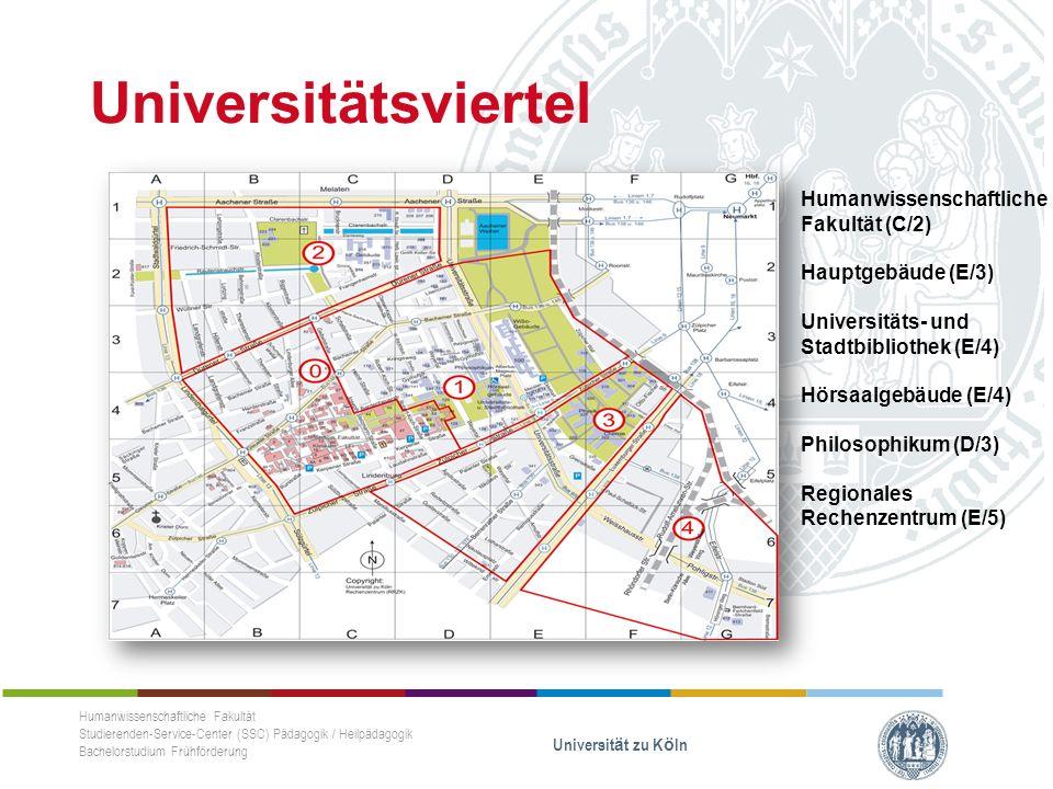 Veranstaltungsangaben - Detail Humanwissenschaftliche Fakultät Studierenden-Service-Center (SSC) Pädagogik / Heilpädagogik Bachelorstudium Frühförderung Universität zu Köln