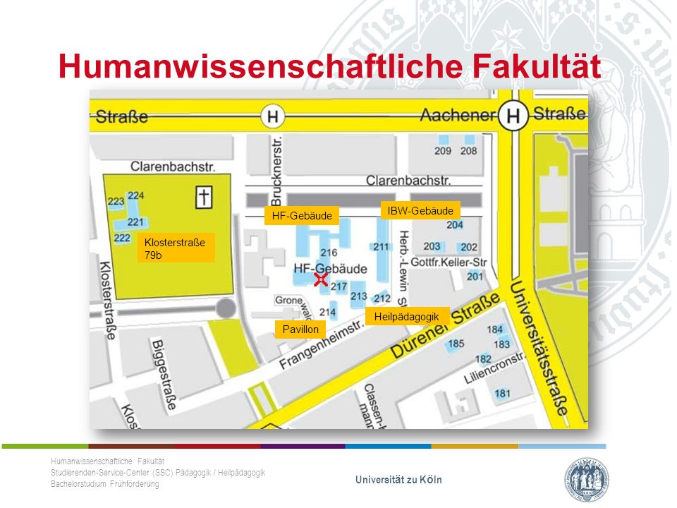 Login mit dem S-Mail-Account KLIPS Humanwissenschaftliche Fakultät Studierenden-Service-Center (SSC) Pädagogik / Heilpädagogik Bachelorstudium Frühförderung Universität zu Köln