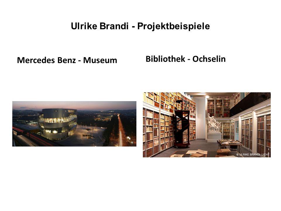 Ulrike Brandi - Projektbeispiele Mercedes Benz - Museum Bibliothek - Ochselin