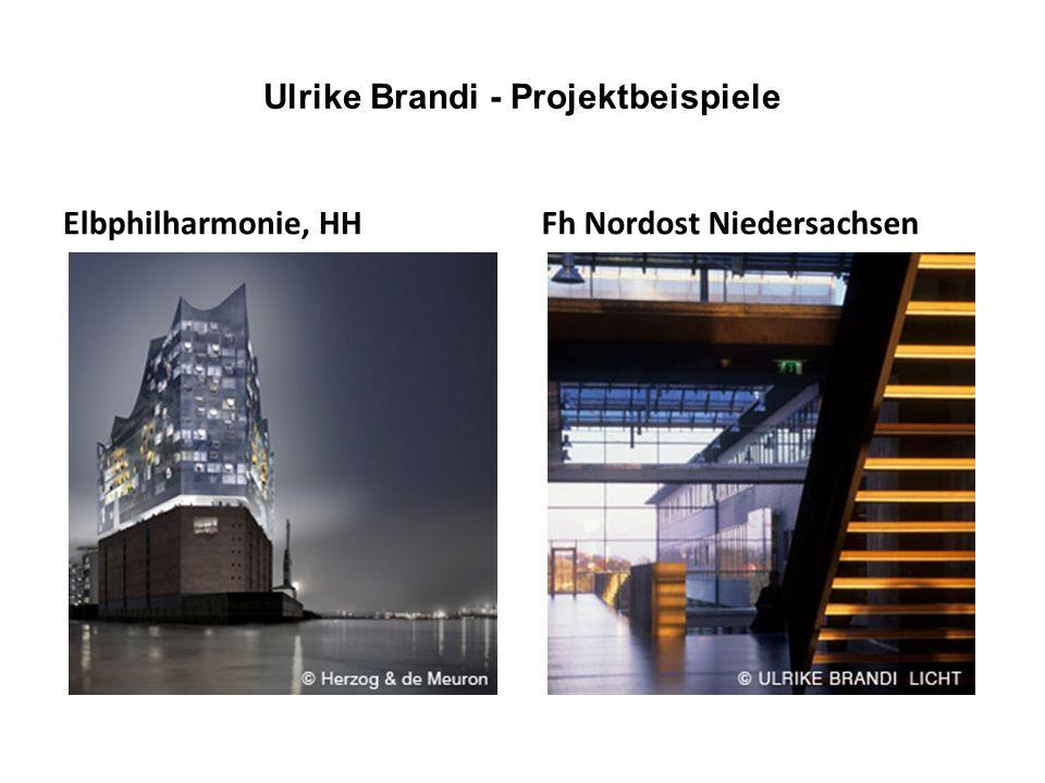 Ulrike Brandi - Projektbeispiele Elbphilharmonie, HHFh Nordost Niedersachsen