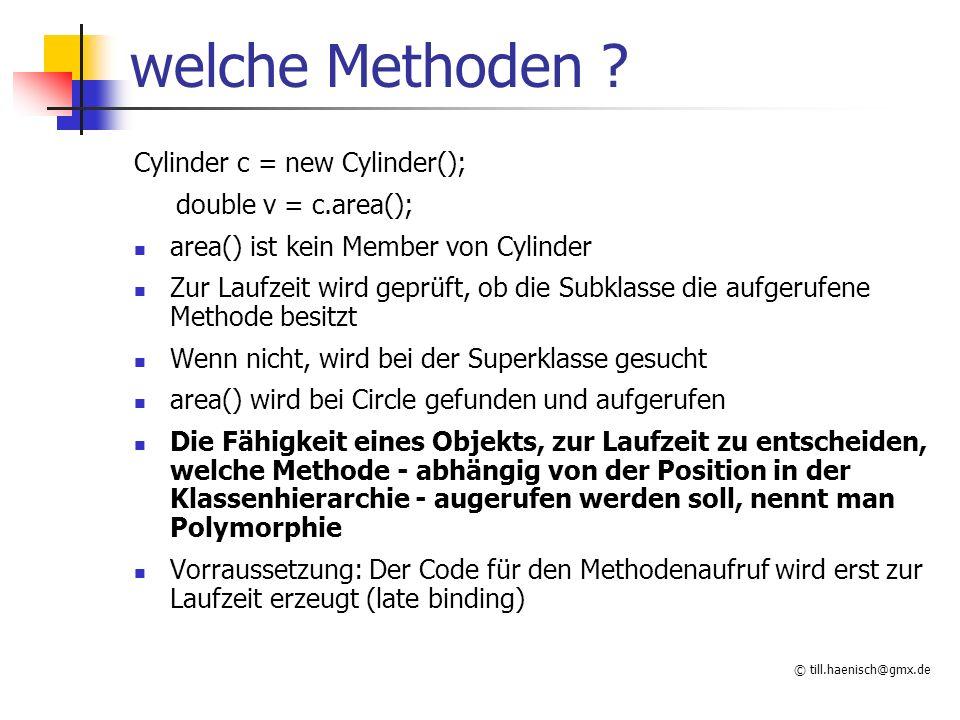 © till.haenisch@gmx.de welche Methoden .