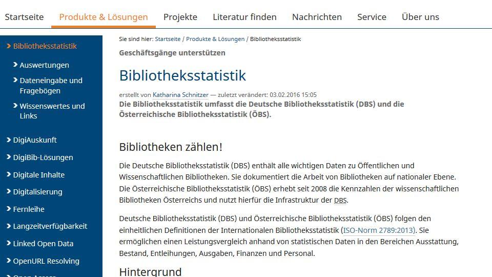 21.04.2016 www.bibliotheksstatistik.de | dbs@hbz-nrw.de 50