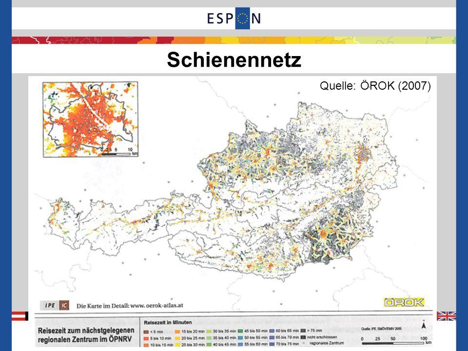 Zielnetz 2025+ 7 Quelle: ÖBB Infrastruktur / A. Matthä (2011)