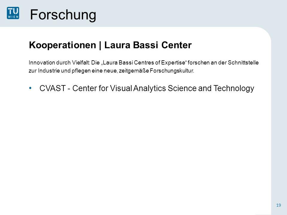 """Forschung Innovation durch Vielfalt: Die """"Laura Bassi Centres of Expertise forschen an der Schnittstelle zur Industrie und pflegen eine neue, zeitgemäße Forschungskultur."""