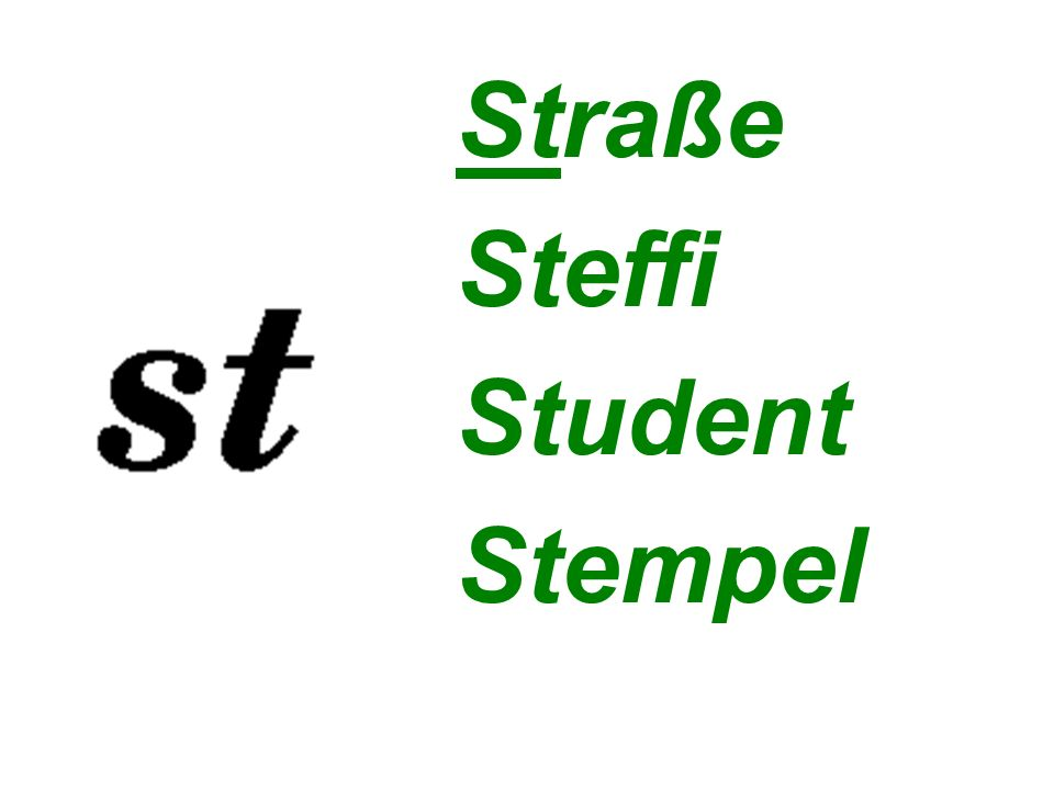 Straße Steffi Student Stempel