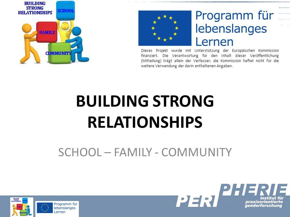 Dieses Projekt wurde mit Unterstützung der Europäischen Kommission finanziert. Die Verantwortung für den Inhalt dieser Veröffentlichung (Mitteilung) t