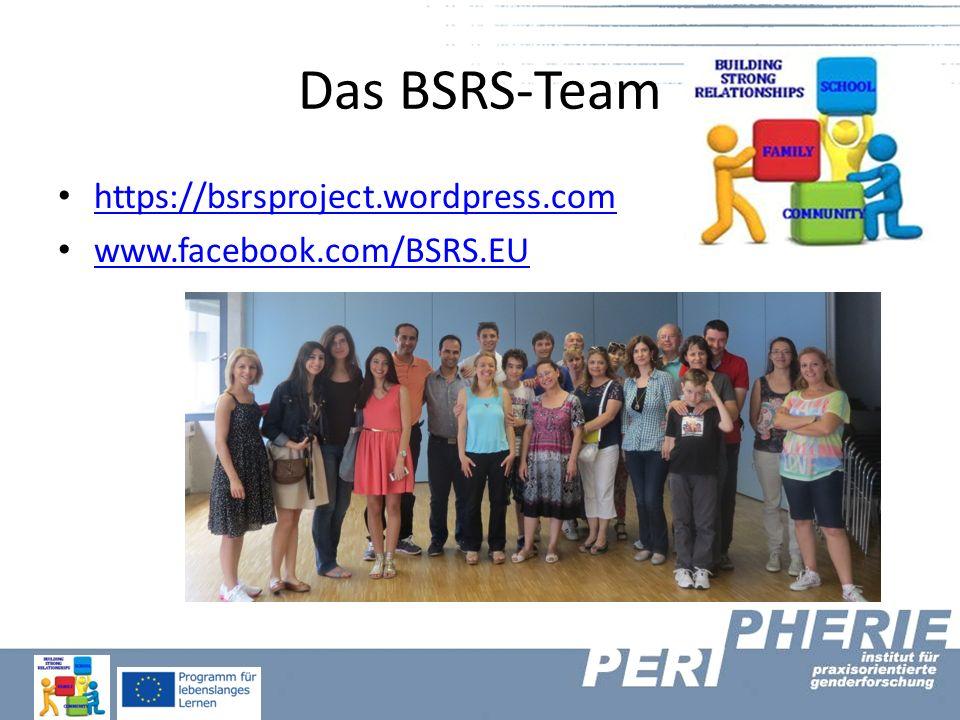 Das BSRS-Team https://bsrsproject.wordpress.com www.facebook.com/BSRS.EU