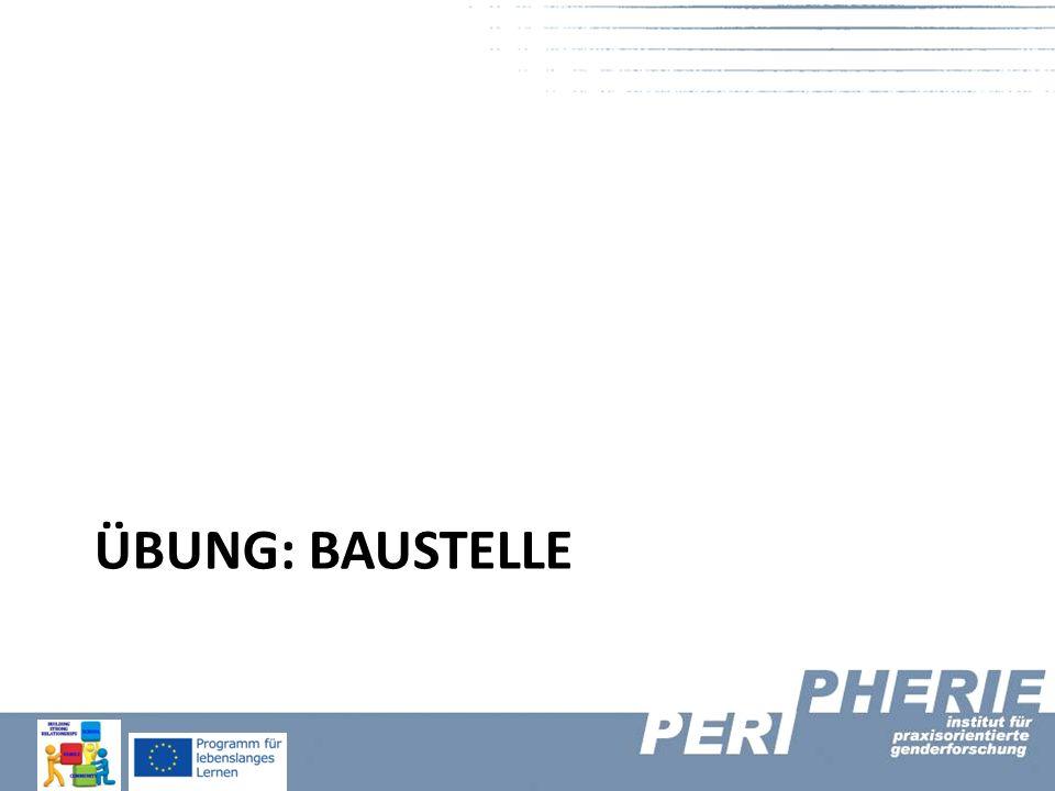 ÜBUNG: BAUSTELLE