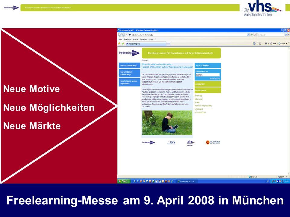 www.thessenvitz.de 2 Neue Motive Neue Möglichkeiten Neue Märkte Tatsachen und Thesen zur Veränderung der Bildungslandschaft Freelearning-Messe am 9.