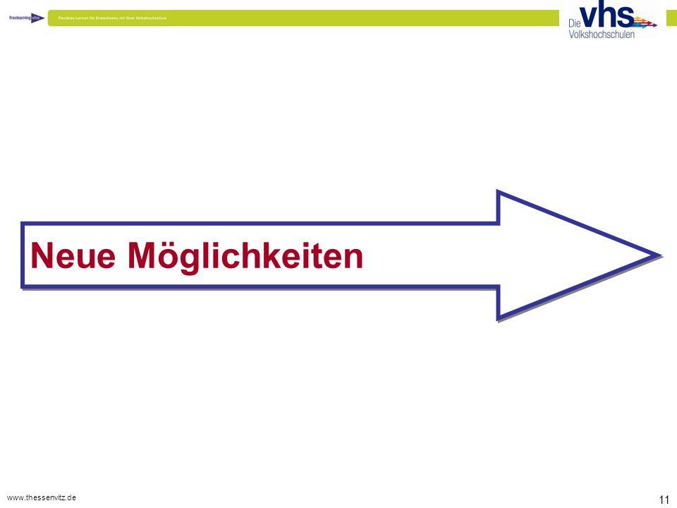 www.thessenvitz.de 11 Neue Möglichkeiten