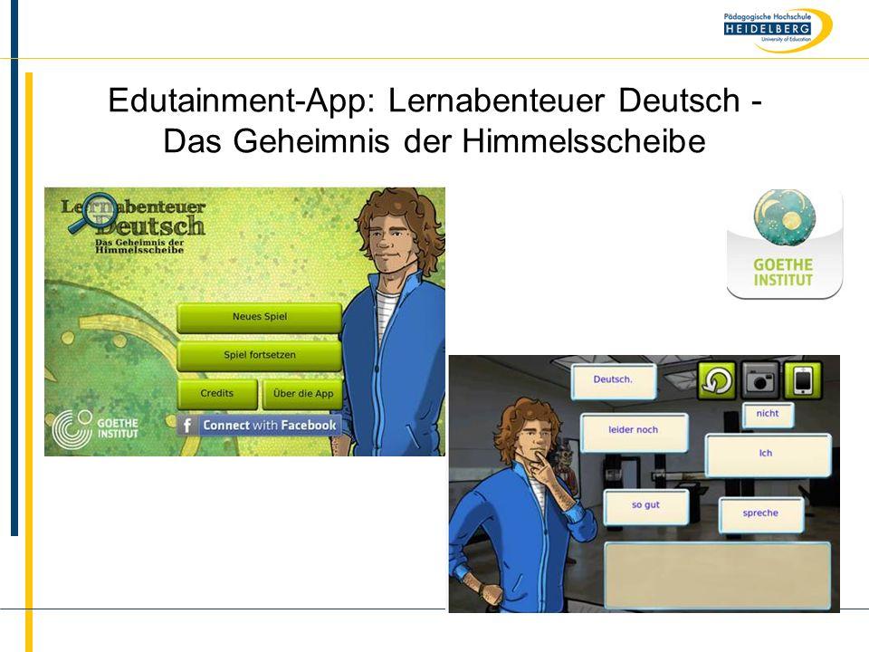 Name Edutainment-App: Lernabenteuer Deutsch - Das Geheimnis der Himmelsscheibe