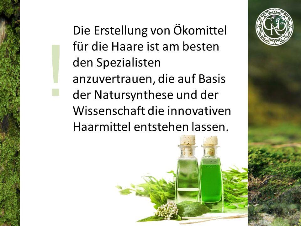 Haarkosmetik, die aufgrund der maximalen Verwendung von natürlichen Inhaltsstoffen und die Erhaltung der Eigenschaften von Pflanzen hergestellt wird, unterscheidet sich grundlegend von den chemischen Kosmetika.
