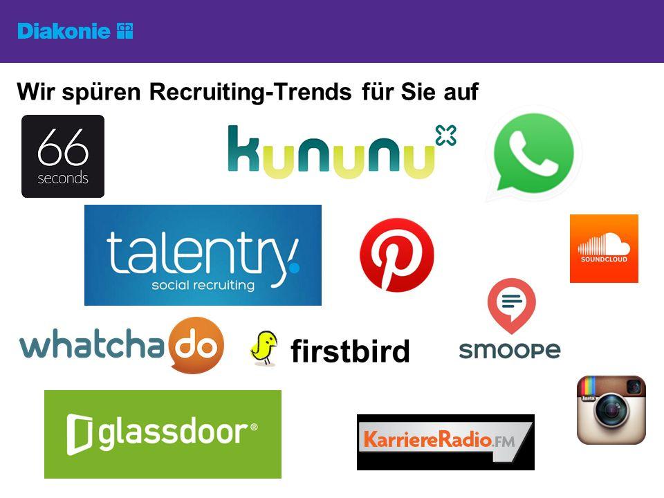 Wir spüren Recruiting-Trends für Sie auf