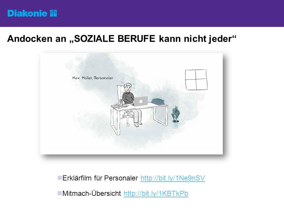 """Andocken an """"SOZIALE BERUFE kann nicht jeder"""" Erklärfilm für Personaler http://bit.ly/1Ne9nSVhttp://bit.ly/1Ne9nSV Mitmach-Übersicht http://bit.ly/1KB"""