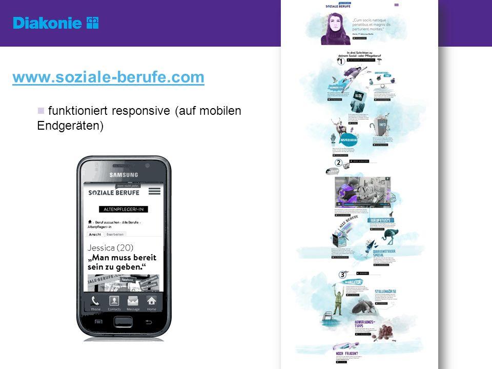 funktioniert responsive (auf mobilen Endgeräten) www.soziale-berufe.com