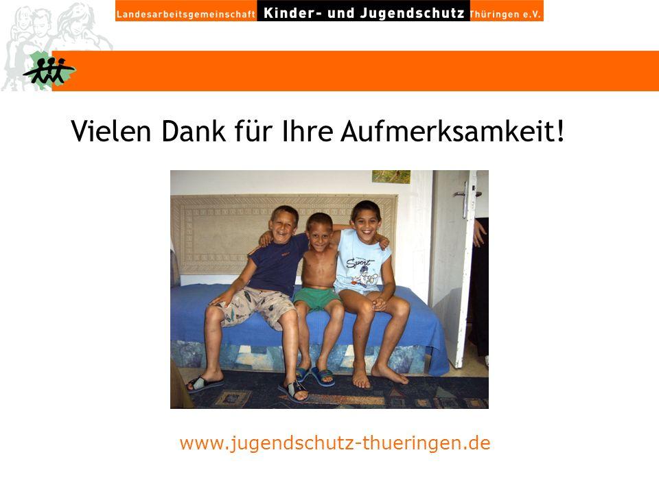 Vielen Dank für Ihre Aufmerksamkeit! www.jugendschutz-thueringen.de
