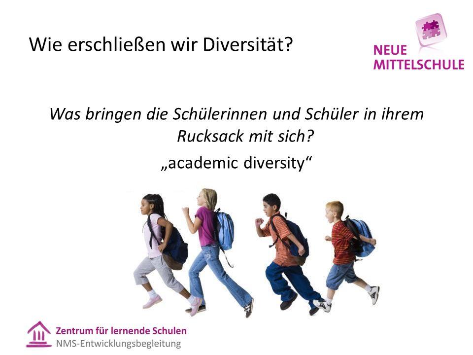 Wie erschließen wir Diversität.