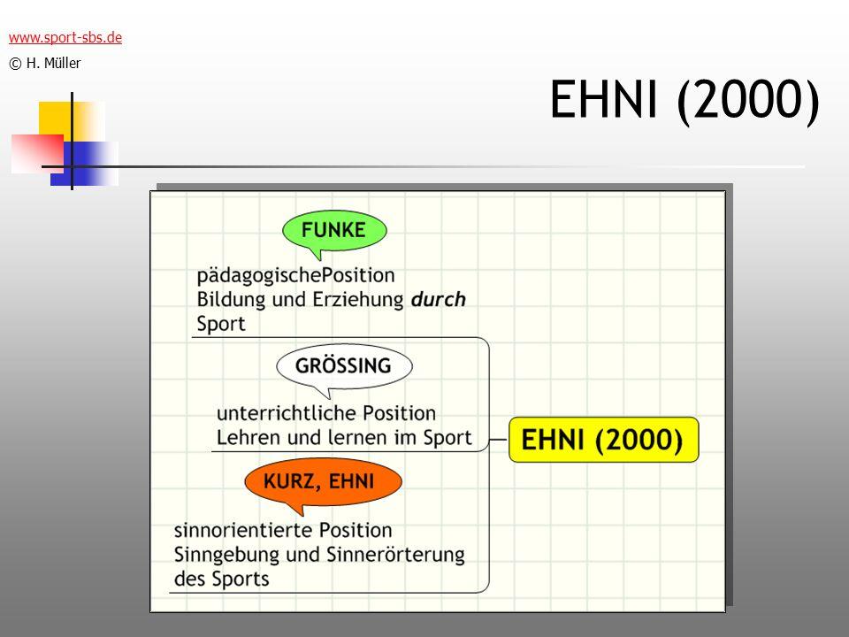 EHNI (2000) www.sport-sbs.de © H. Müller
