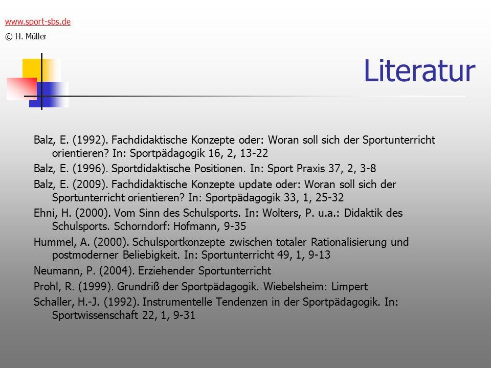 Literatur Balz, E. (1992).