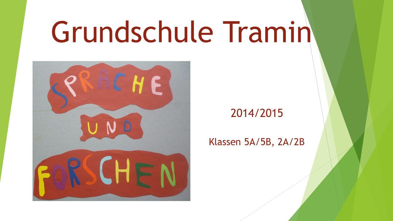 Grundschule Tramin 2014/2015 Klassen 5A/5B, 2A/2B