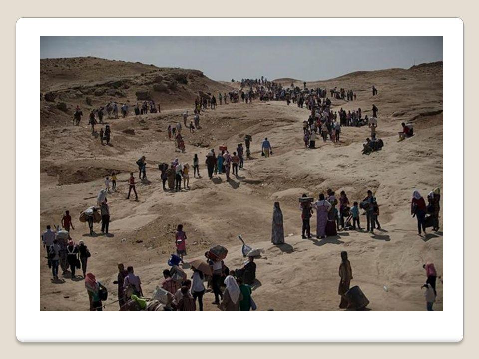 An diesem Tag wurden 12.000 Jesiden Opfer dieses schrecklichen Terrors.