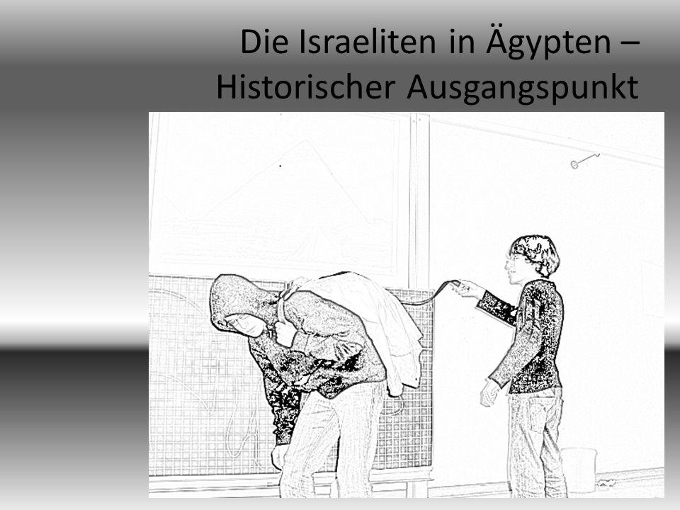 Die schlimmen Misshandlungen zermürben die Israeliten in Ägypten immer mehr.