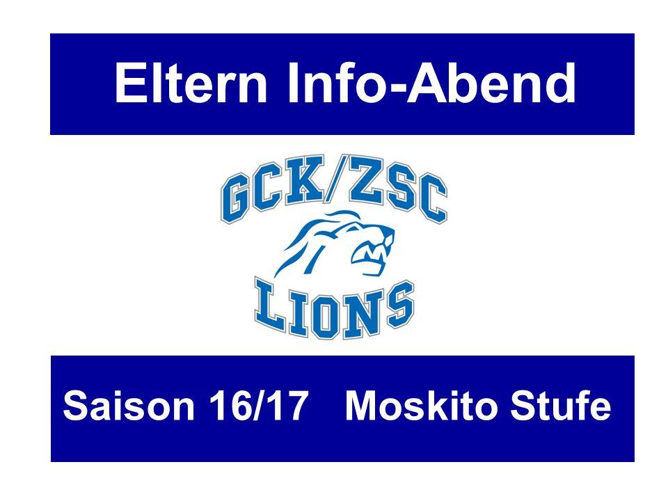 Traktanden - Begrüssung - GCK/ZSC Lions Nachwuchs AG - Finanzen - Prävention - Infos Stufe / Mannschaft - Ausrüster - Spieler / Trainer / Eltern - News and more - Gäste