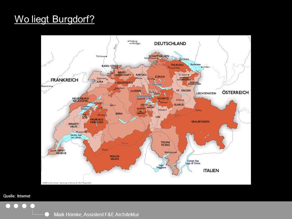 Maik Hömke, Assistent F&E Architektur Wo liegt Burgdorf Quelle: Internet