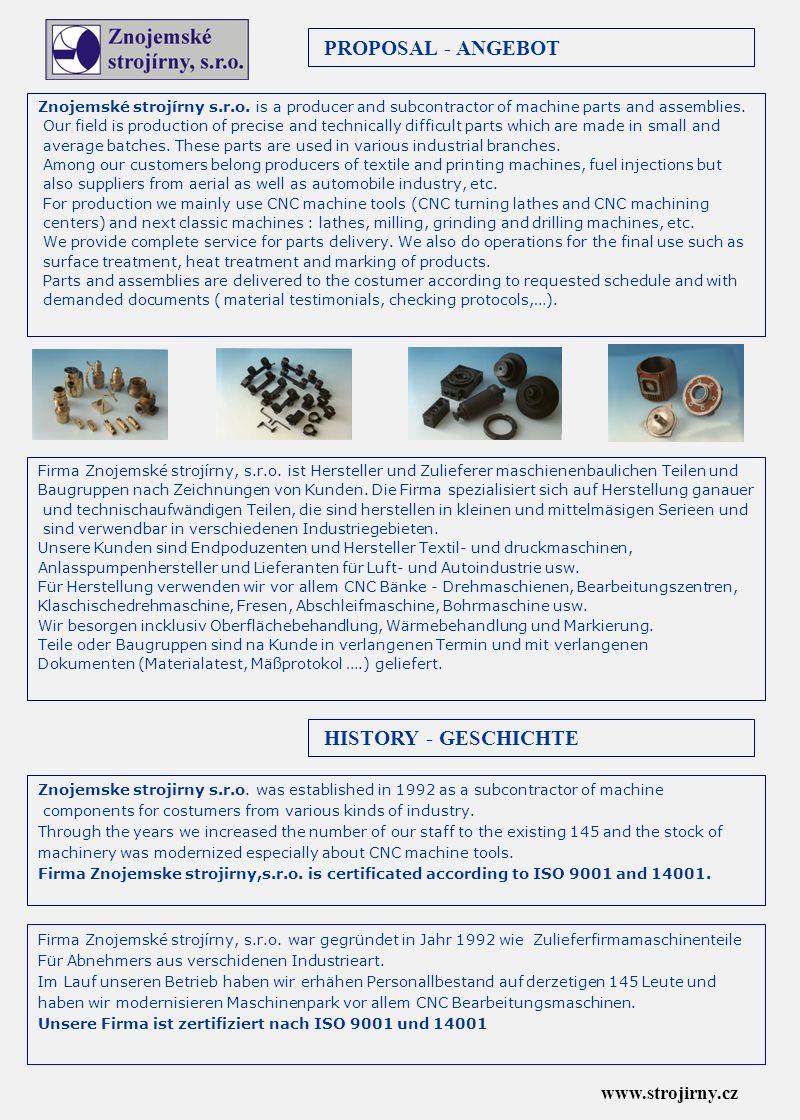 1.GOSS Graphiques Systémes S.A., F - Nantes 2. NEUSON Baumaschinen GmbH, A – Linz-Leonding 3.