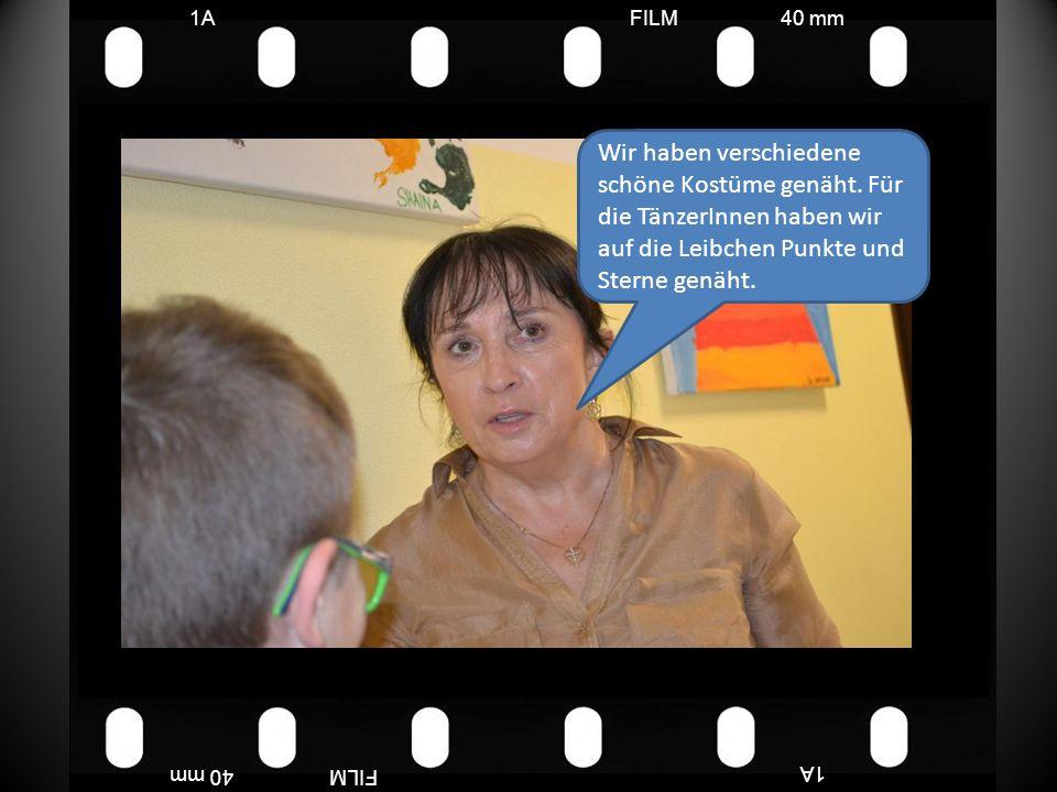 FILM40 mm1A FILM40 mm Wir haben verschiedene schöne Kostüme genäht.