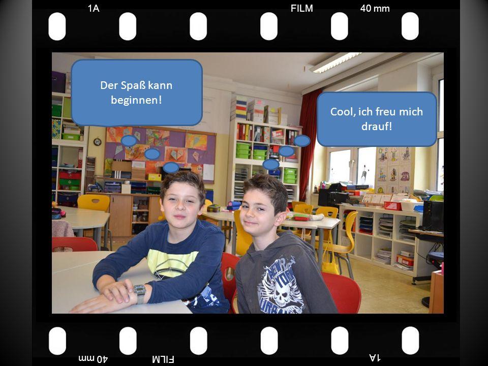 FILM40 mm1A FILM40 mm Die Kinder waren sehr fleißig und motiviert.