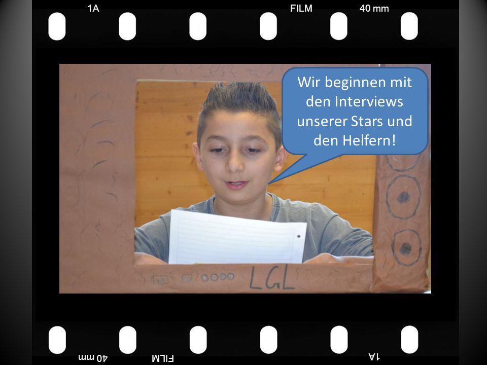 FILM40 mm1A FILM40 mm Wir habe Sterne, Kreise, Taschen gebastelt für unsere Aufführung.