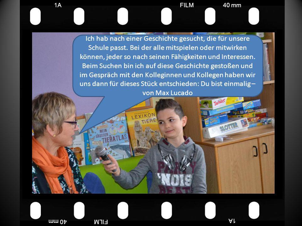 FILM40 mm1A FILM40 mm Wir Wemmicks sind ein komisches Volk; immer geben wir einander Sterne und Punkte.