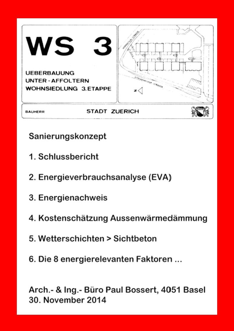 Eine Präsentation Der Liegenschaftenverwaltung Stadt Zürich (LVZ) Wohnsiedlung WS 3 Unter-Affoltern