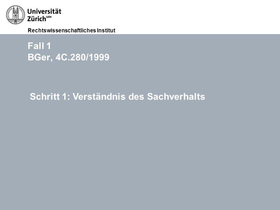 Rechtswissenschaftliches Institut FS 2015 Übungen im Haftpflichtrecht (Thema III: Widerrechtlichkeit), RA lic. iur. Lukasz Grebski Folie 1112.11.2011