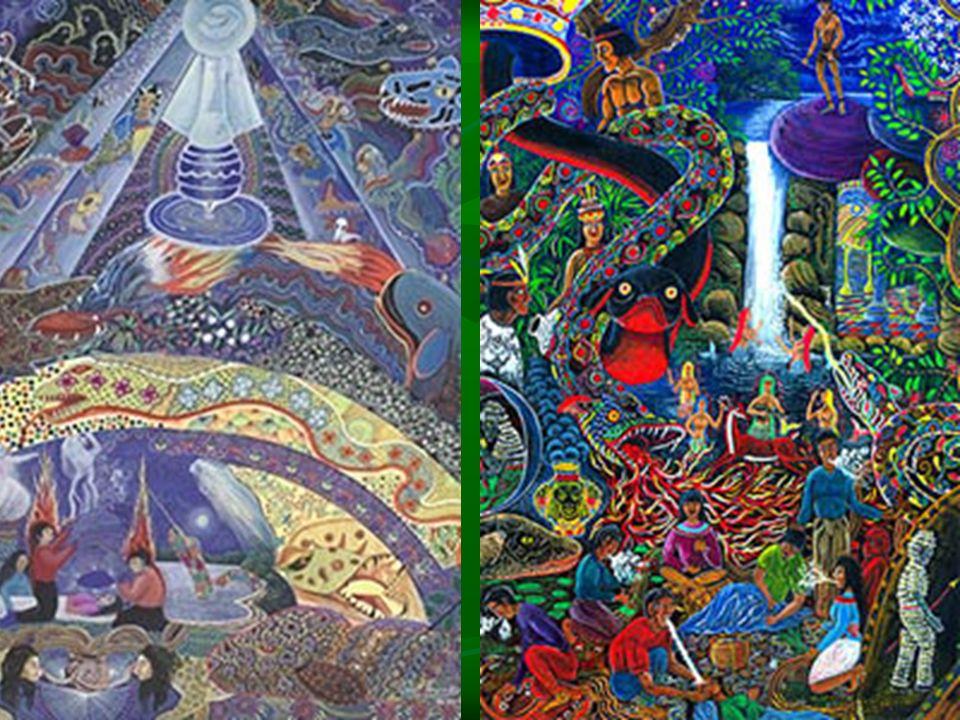 Ayahuasca und Heilung Ayahuasca ist ein Werkzeug/Hilfmittel/Weg Ayahuasca ist ein Werkzeug/Hilfmittel/Weg ('healing tool') für: - Reinigung des Körpers ('physical healing') - emotionale Heilung ('emotional healing') - spirituelle Heilung ('healing of the soul') Heilungseffekte werden selten den pharmakologischen Eigenschaften, sondern dem Ritual an sich (Lieder, spiritueller Raum, etc) zugeordnet Heilungseffekte werden selten den pharmakologischen Eigenschaften, sondern dem Ritual an sich (Lieder, spiritueller Raum, etc) zugeordnet Aktivierung der individuellen Selbstheilungskräften ('innerer Heiler') 'andersweltliche Entitäten' ('spirits') 'andersweltliche Entitäten' ('spirits')