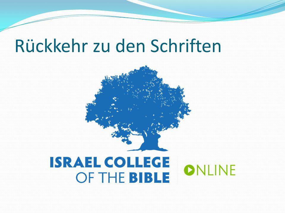 Rückkehr zu den Schriften