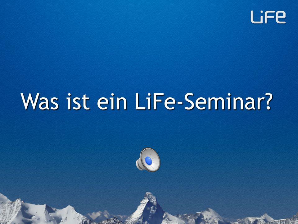 Weitere Informationen auf life-seminar.ch