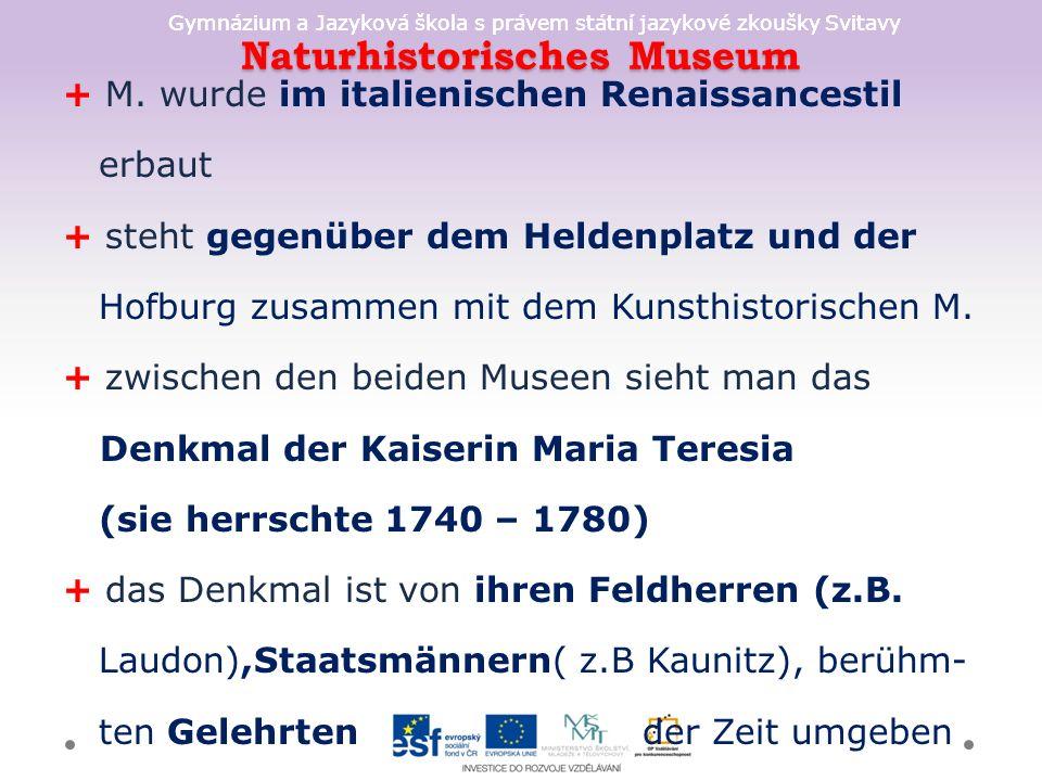 Naturhistorisches Museum + M.