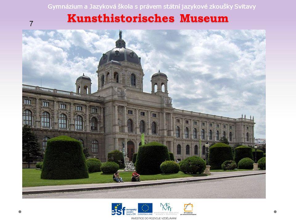 Gymnázium a Jazyková škola s právem státní jazykové zkoušky Svitavy Kunsthistorisches Museum 7