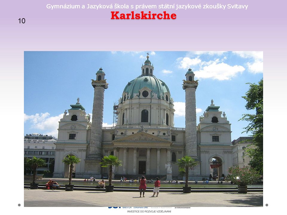 Gymnázium a Jazyková škola s právem státní jazykové zkoušky Svitavy Karlskirche 10