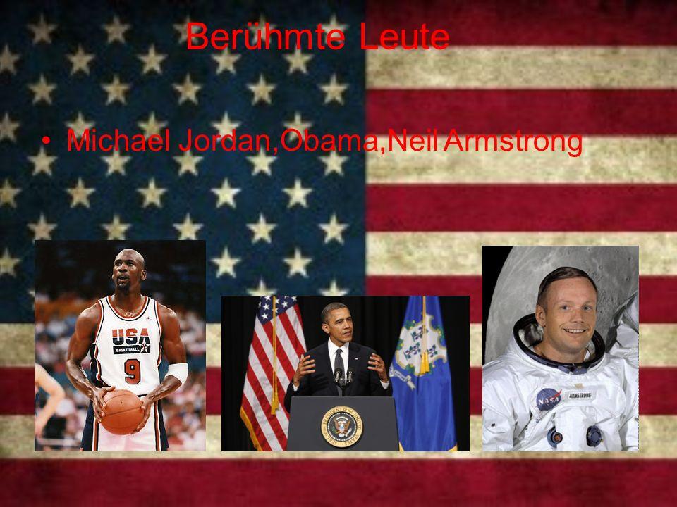 Berühmte Leute Michael Jordan,Obama,Neil Armstrong