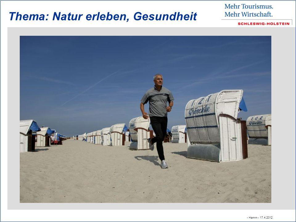 Thema: Natur erleben, Gesundheit - Hamm - 17.4.2012
