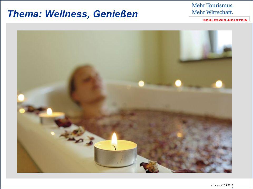 Thema: Wellness, Genießen - Hamm - 17.4.2012 7
